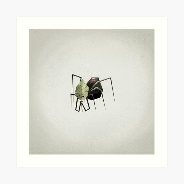 The Non-Menacing Spider Art Print