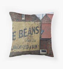 Bile Beans Throw Pillow