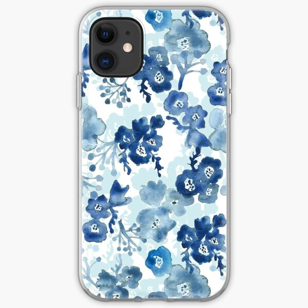 Blooms of Ink iPhone Soft Case