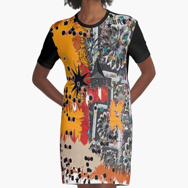 exotique texture Graphic T-Shirt Dress