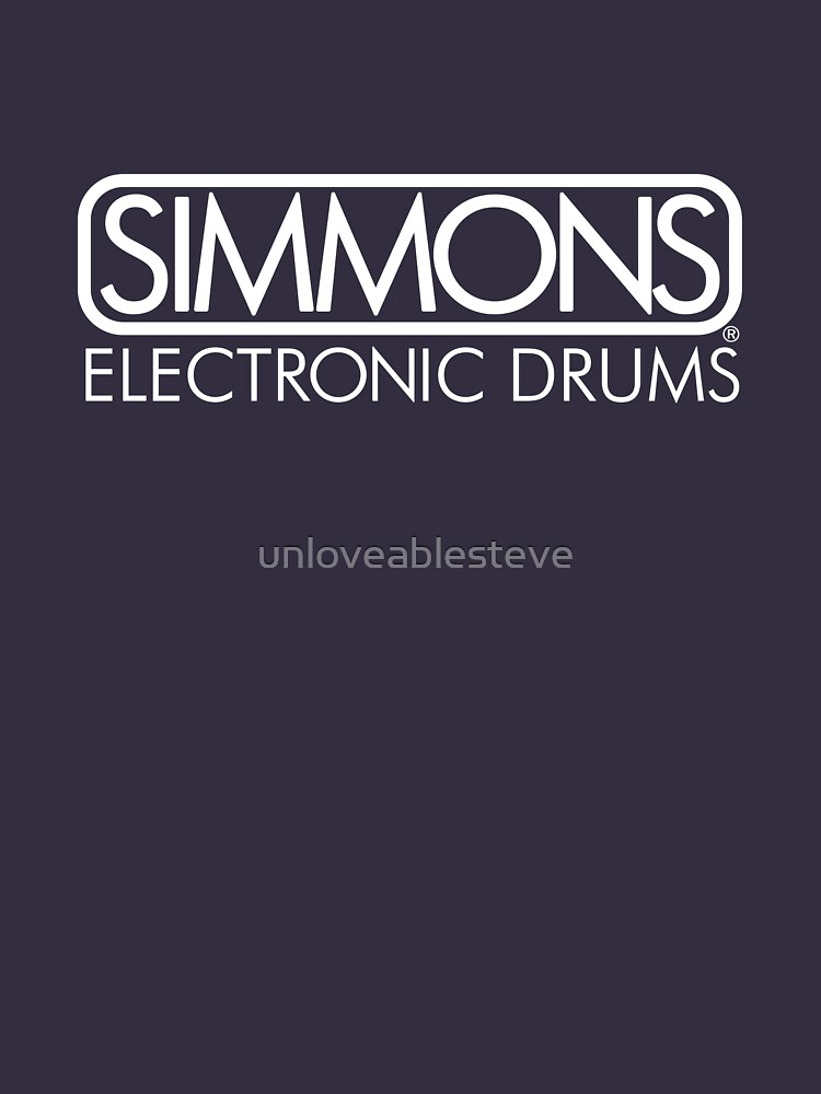 Simmons Drums: Electronic drums by unloveablesteve