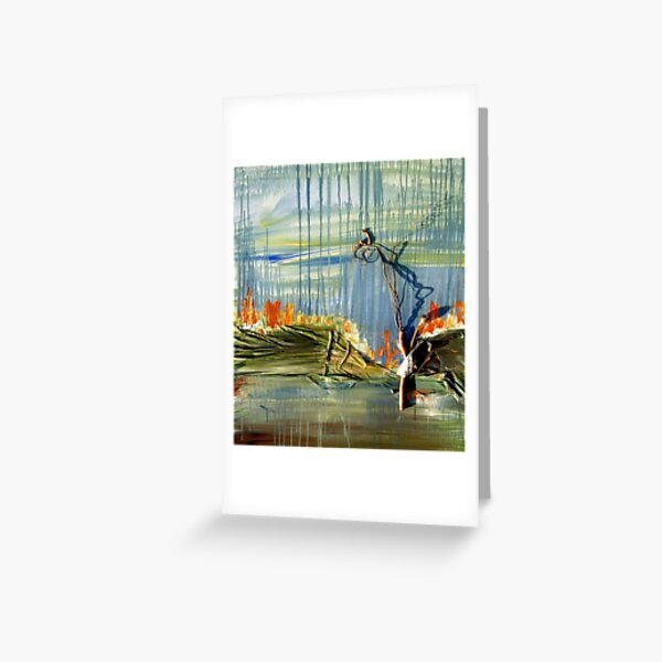 Blue Sky Mine Greeting Card