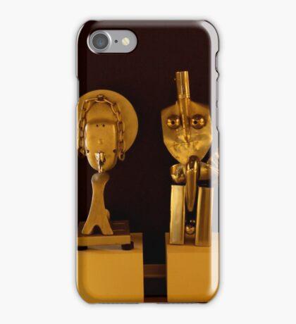 tin man finds love iPhone Case/Skin
