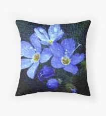 Blue is Forever Throw Pillow