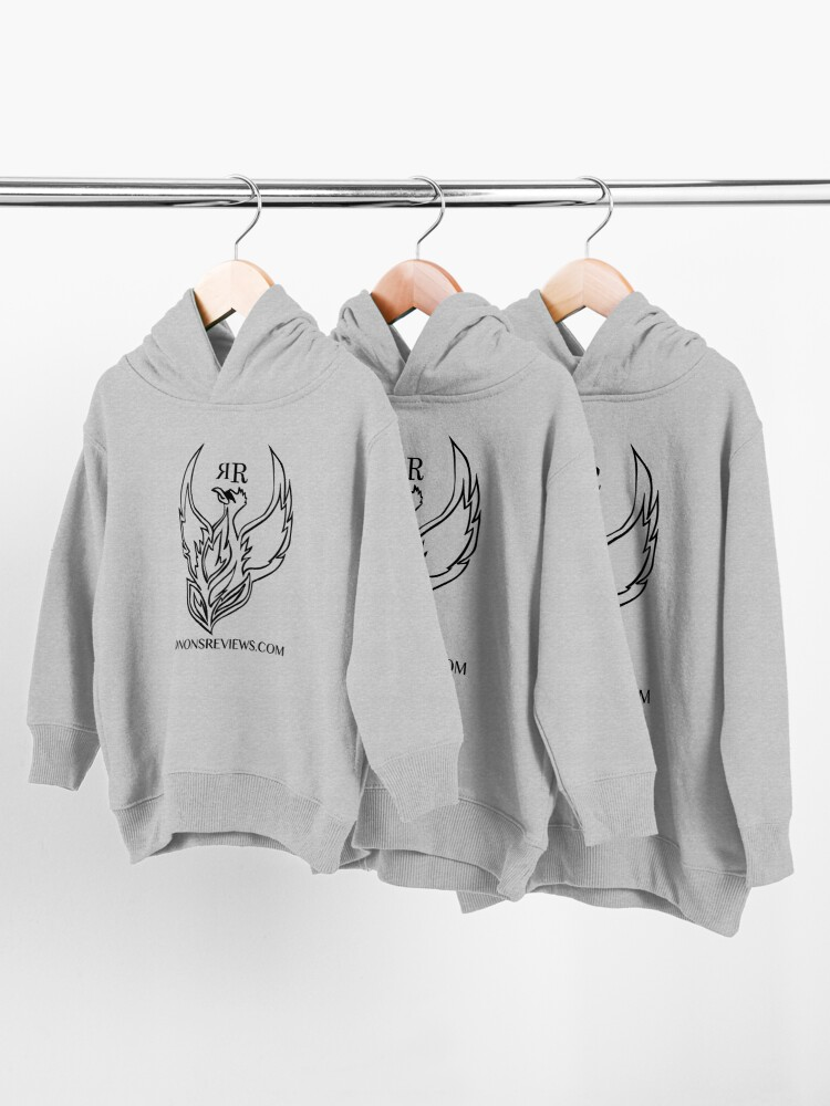 Alternate view of Ronon's Reviews Official Merch Toddler Pullover Hoodie