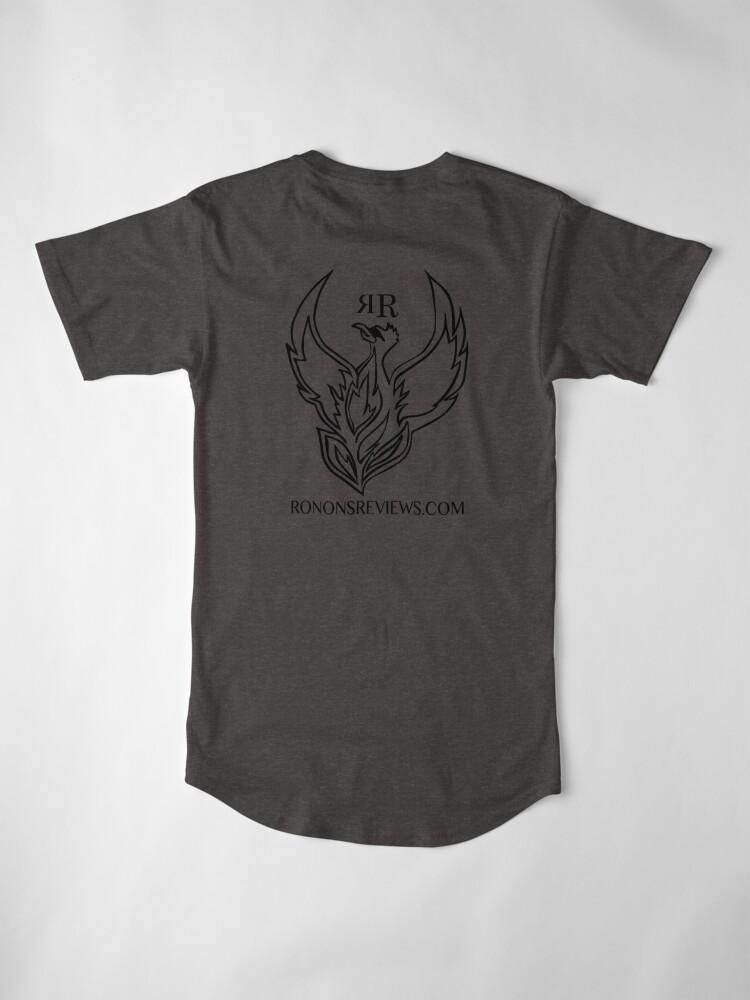 Alternate view of Ronon's Reviews Official Merch Long T-Shirt