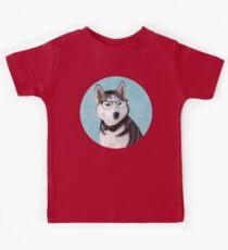 Mr Siberian Husky Kids Tee