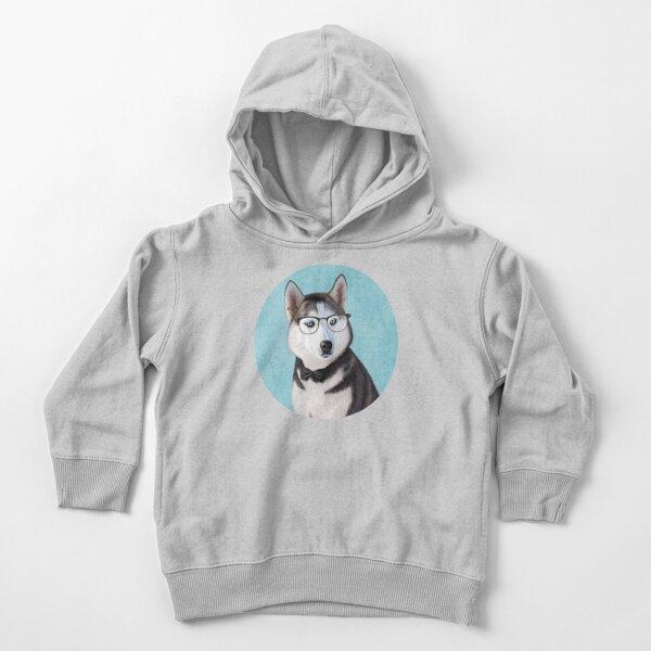 Mr Siberian Husky Toddler Pullover Hoodie