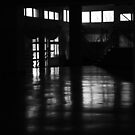 The school corridor by ulryka