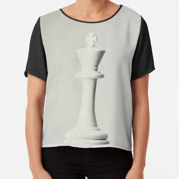 GAME OF THE THRONE / The White King Chiffon Top