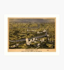 Civil War Battle of Chickahominy River June 27 1862 Art Print