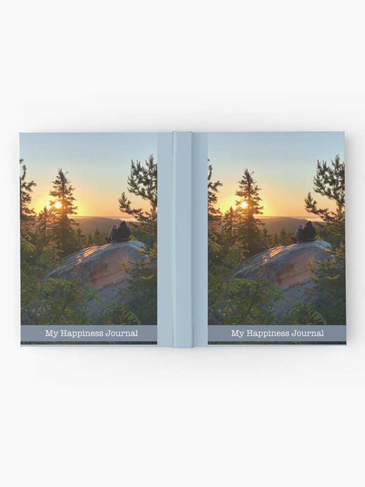 Alternate view of My Happiness Journal Lovers at Sunset Hardcover Journal
