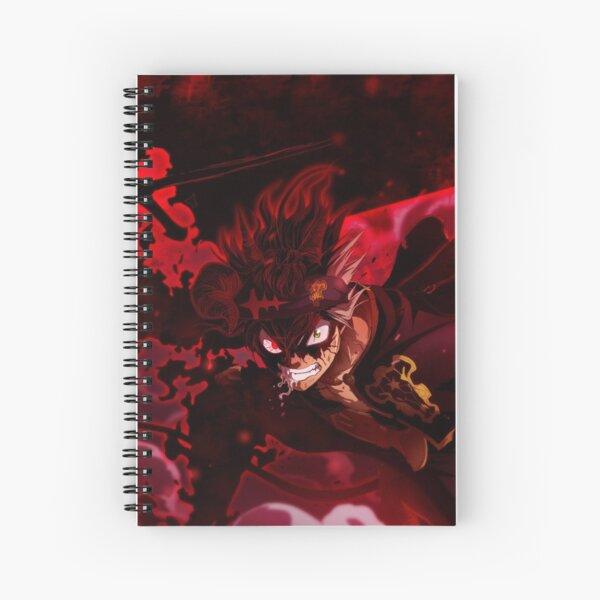 Black Clover Asta Cuaderno de espiral
