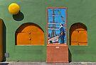 Wall in La Boca by Peter Hammer