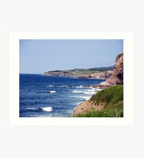 Felix Cove Seascape Art Print