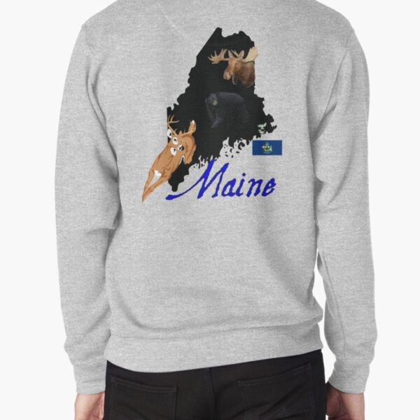 Maine Pullover Sweatshirt