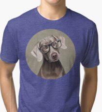 Mr Weimaraner Tri-blend T-Shirt