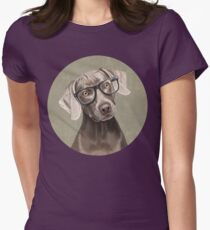 Mr Weimaraner Womens Fitted T-Shirt