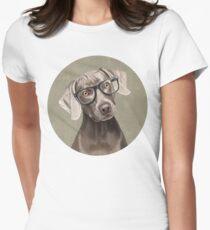 Mr Weimaraner Women's Fitted T-Shirt