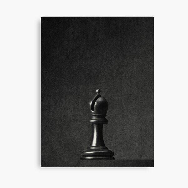 GAME OF THE THRONE / The Black Bishop Canvas Print