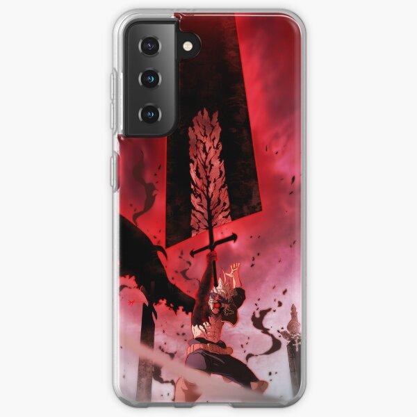 Black Clover Asta Samsung Galaxy Soft Case