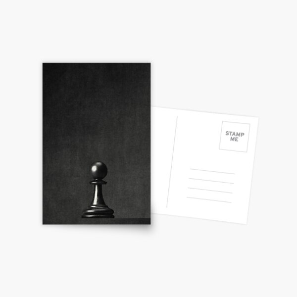 GAME OF THE THRONE / The Black Pawn Postcard