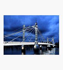 Albert Bridge, London Photographic Print