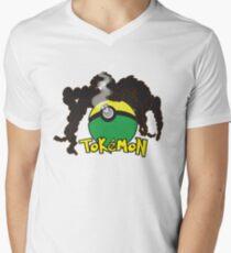 Tokemon Men's V-Neck T-Shirt