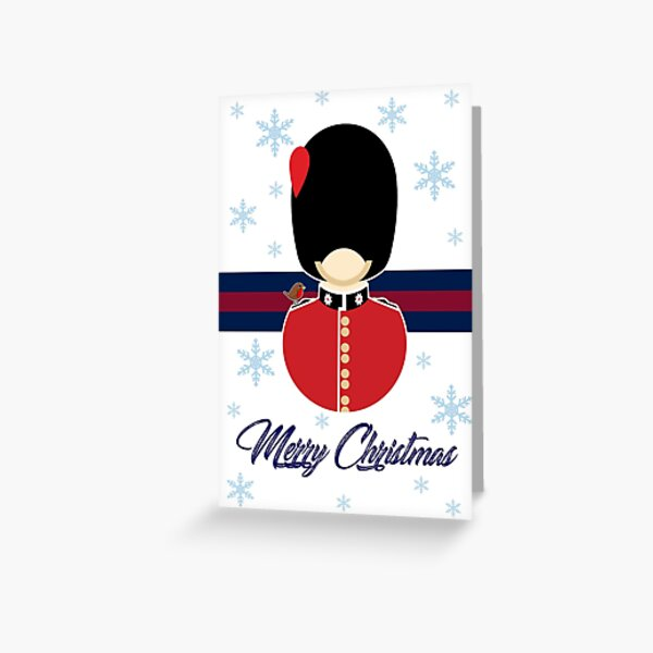 Coldstream Guards Christmas Card Greeting Card