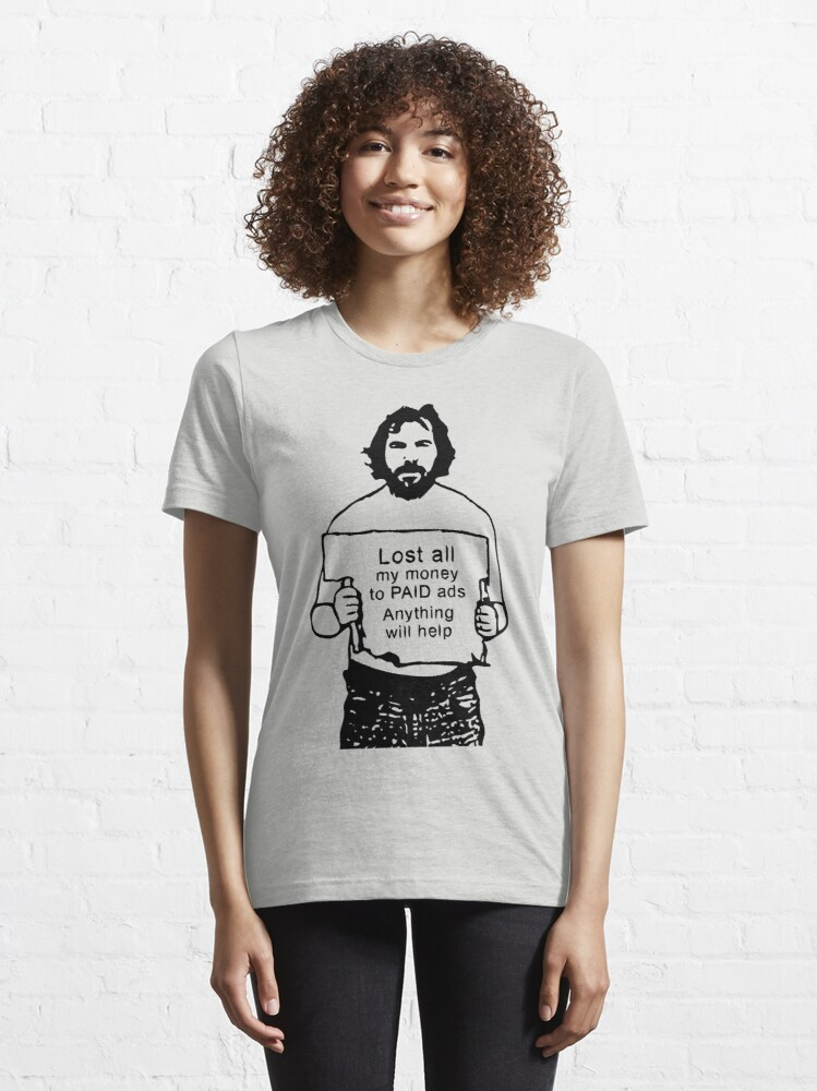 Alternate view of Content Marketing Spoof Essential T-Shirt