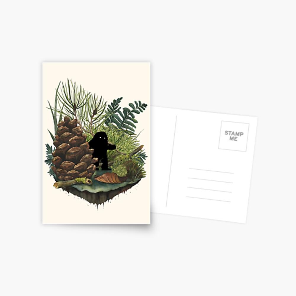 Tiny Sasquatch Postcard