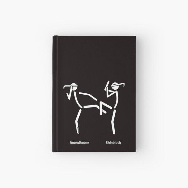 Muaythai Roundhouse Hardcover Journal
