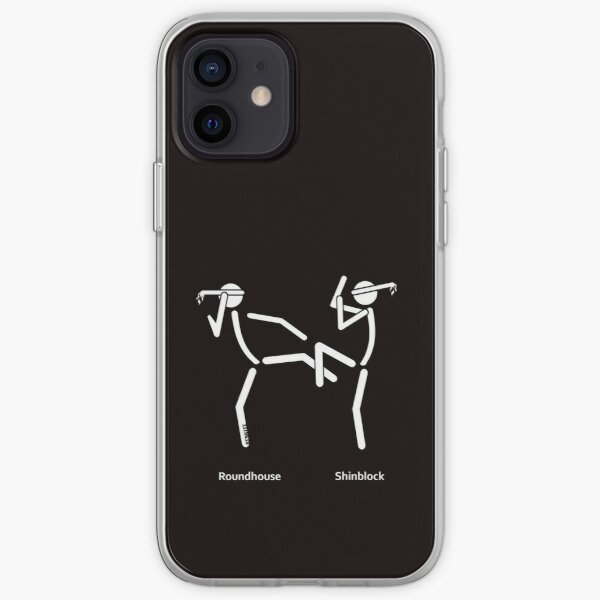 Muaythai Roundhouse iPhone Soft Case