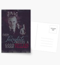 Every fairytale needs a good old, old-fashioned villain. Postcards