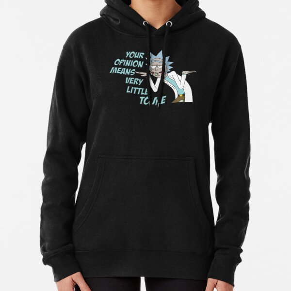 Your opinion means very little to me. Rick and Morty t shirt - Portal Science Wubba Lubba Dubb Dubb Bestseller Merch Hoodie Hat  Pullover Hoodie