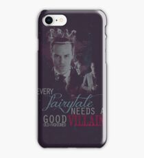 Every fairytale needs a good old, old-fashioned villain. iPhone Case/Skin