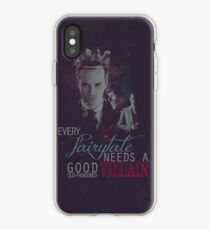Every fairytale needs a good old, old-fashioned villain. iPhone Case