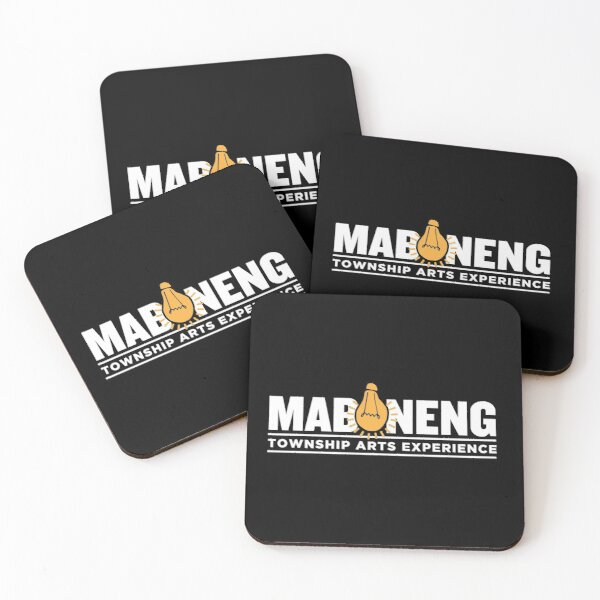 The Maboneng Township Arts Experience Coasters (Set of 4)