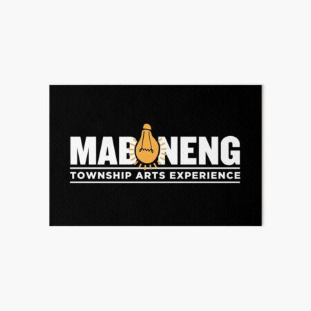 The Maboneng Township Arts Experience Art Board Print