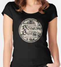 Borgin and Burkes Women's Fitted Scoop T-Shirt