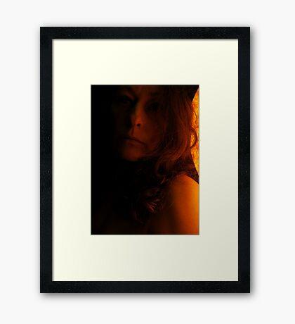 Bask Framed Print