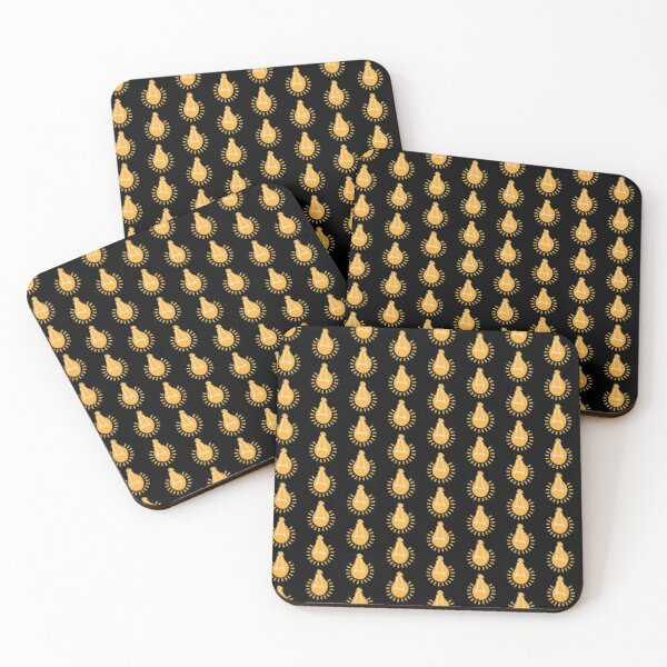 Maboneng Enlightening Bulb Coasters (Set of 4)