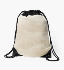 Lace And Ruffles Tablecoth In Sepia Drawstring Bag