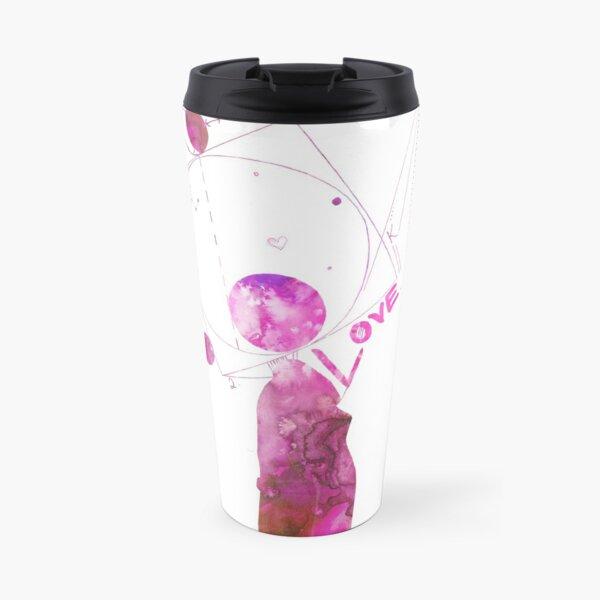 Love on the Brain Travel Mug