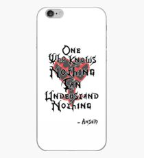 Kingdom Hearts: Ansem quote iPhone Case