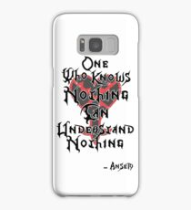 Kingdom Hearts: Ansem quote Samsung Galaxy Case/Skin