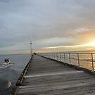 Mordialloc Pier  by Jackson  McCarthy