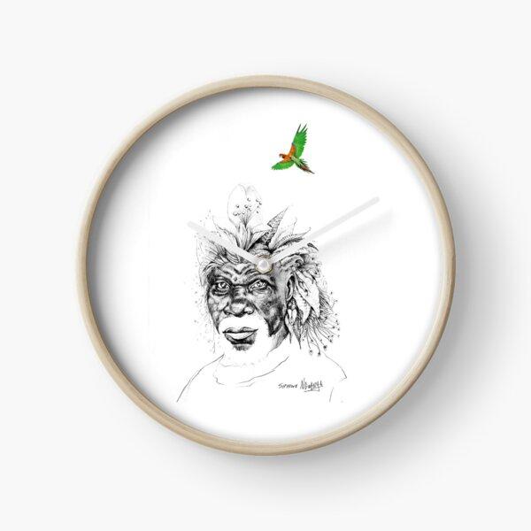 Sunkissed Sunman Clock