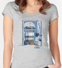 The Morning Routine Women's Fitted Scoop T-Shirt