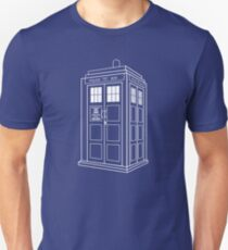 Who Police Booth Unisex T-Shirt